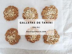 Galletas de Tahini | Recetas and Co. (www.recetasandco.com)#galletas #tahini #cookies #healthycookies #saludable #sano #eatclean #comelimpio #dulcesaludables