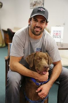 Deckers Dogs Foundation | Eric Decker and Deckers Dogs team with Veterinary Pet Insurance