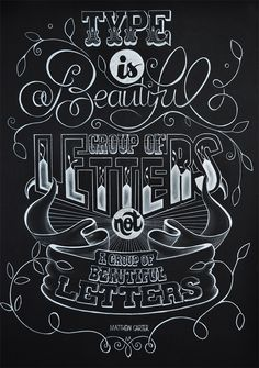 Type is a Beautiful Group of Letters, not a group of beautiful letters by Libbi Reed