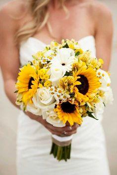 Sunflower Wedding Decor Ideas For You Big Day ❤ See more: http://www.weddingforward.com/sunflower-wedding-decor-ideas/ #weddingforward #bride #bridal #wedding