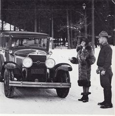 LaSalle, pretty face, Ranger Jimmie Lloyd, 1920s or early 1930s.  &#40...