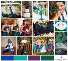 Adorable ideas for a Peacock Feather theme!