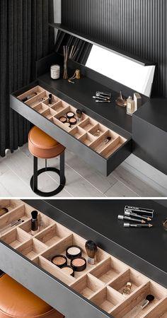 Home Room Design, Home Interior Design, House Design, Bedroom Furniture Design, Home Decor Furniture, Deco Furniture, Dressing Table Design, Dressing Tables, Wardrobe Room