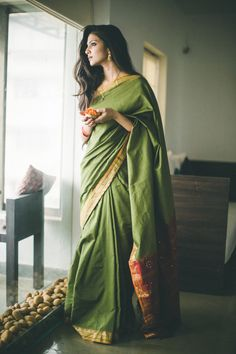 """Famous Swiss psychologist Carl G. Jung (1875-1961) expressed his concern about Indian women giving up saree giving in to westernisation. """"It would be a loss to the whole world if the Indian woman should cease to wear her native costume. India is practically the only civilized country where one can see on living models how woman can and should dress"""". Love India Love Indianness!"""