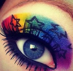 Make up fantasy stars