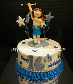 majorette birthday cakes - Google Search
