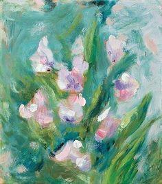 Helene Schjerfbeck, Pink sweet peas
