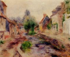 The Village - Pierre-Auguste Renoir