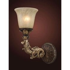 Trump Home Regency Burnt Bronze One-Light Wall Sconce