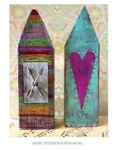 House Totem Happily Ever After by kmichel on Etsy