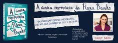 Sinfonia dos Livros: Novidade TopSeller | A Única Memória de Flora Bank...