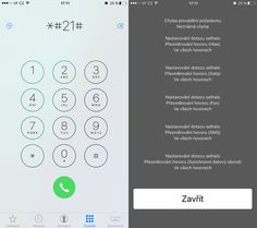 Každý výrobce mobilních telefonů do zařízení přidává kódy, díky kterým lze zobrazit skrytá menu, která jsou jinak nepřístupná. Výjimkou není ani iPhone od A Iphone