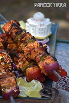 Shital's-Kitchen: Paneer Tikka