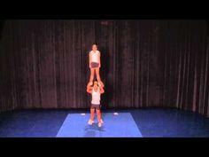 28 best cheer stunts to try images  cheer stunts cheer