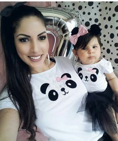 Panda mommy and me