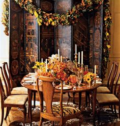 harvest tablescapes - Google Search