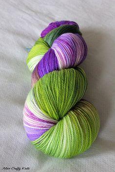 Sweet Georgia Yarns. This color screams spring.