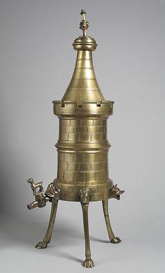 Turret Laver Date: 15th century Culture: German Medium: Bronze Dimensions: Overall: 21 x 5 7/8 in., 6.299lb. (53.3 x 14.9 cm, 2857g)