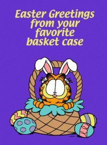Garfield Easter Funny..,lol