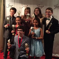"Sean Kyer on Instagram: ""The Joey awards was such a blast! Congrats to all the nominees and winners! I won for best lead in an action/comedy TV series (I won for Odd Squad) Odd Squad also won for assemble! Congrats!"""