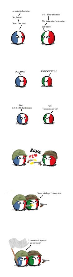 How to win a war... by Italy