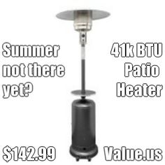 Made by AZ Patio Heaters, supplied by Sears.  Next day delivery.