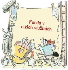 Ferda Mravenec v cizích službách - celá kniha