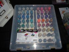 ArtBin glitter glue storage - Scrapbook.com