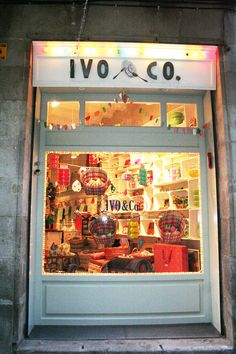 "Vintage children shop in ""El Born"", Barcelona"