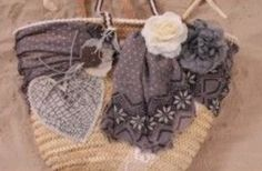 IBIZA BEACH BAG Diy Tote Bag, Reusable Tote Bags, Best Beach Bag, Diy Sac, Boot Bling, Ibiza Fashion, Boho Bags, Denim Bag, Purse Patterns