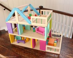 Ana White   Build a HOW TO: Modular Stackable Dollhouse   Free and Easy DIY Project and Furniture Plans
