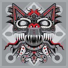 Monstruo  Mexicano por Adrian Acosta Meza adriarte