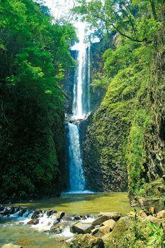 Cachoeira Cassorova em Brotas-SP