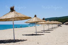 Beaches at the Black sea in Bulgaria: The hidden pearls of the Black sea.