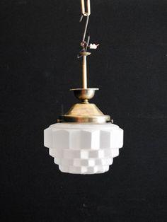 Art Deco pendant light