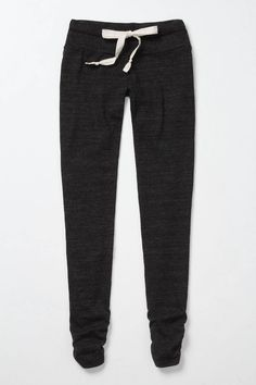 I would love to snuggle up in these Anthropologie pants.: