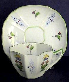c1900 Hand Painted Teacup
