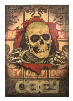 by Shepard Fairey ☠☠☠™