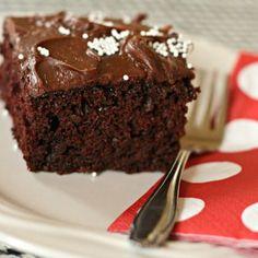Old Fashion Chocolate Mayonnaise Cake