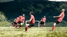 Mountain soccer