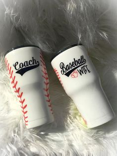 This listing is for one baseball designed stainless steel coffee vacuum insulated tumbler. Available in or tumbler. All tumblers are sealed with a FDA compliant formula for a safe and smooth finish that shines. All designs are sealed so they Make coach wi Baseball Cup, Baseball Coach Gifts, Baseball Playoffs, Baseball Quotes, Baseball Season, Football Banquet, Baseball Live, Baseball Stuff, Baseball Party