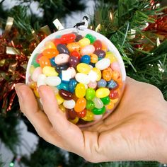 Giant Jelly Belly Christmas Ornament