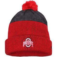 Ohio State Buckeyes Nike New Day Cuffed Knit Hat with Pom - Scarlet