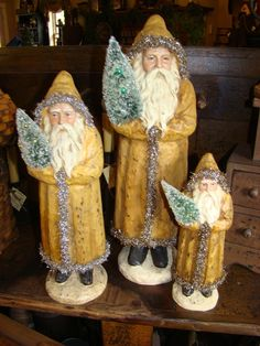 Once upon a time there were three Santas.....