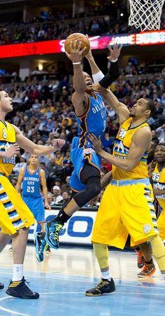 Photo gallery from Jan. 20 Thunder vs. Nuggets game - THUNDER.NBA.COM