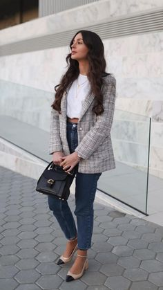 Casual Sunday Outfit, Dressy Casual Outfits, Smart Casual Outfit, Work Casual, Thursday Outfit, Casual Chic, Office Outfits Women, Business Casual Outfits For Women, Stylish Clothes For Women
