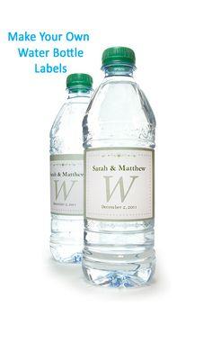 85 Best Water Bottle Labels Images Printable Labels Label