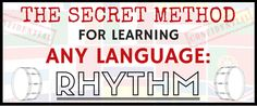 Learning a new language takes plenty of patience and tons of practice. Use this secret method to learn any language you want in an easy, quick, and fun way! Learning French, Learning Italian, Spanish Words, French Words, Learn Japanese Words, Medium Blog, Learning Methods, Korean Words