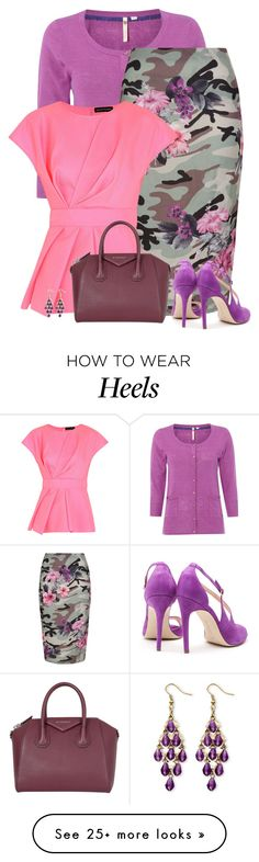 """""""June"""" by divacrafts on Polyvore featuring White Stuff, New Look, Jonathan Saunders, Rupert Sanderson, Givenchy, Palm Beach Jewelry and Original"""