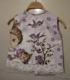 Motoristin Mutsi at home and garden: Sewing pinny dress